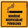 Kouření neoficiálně povoleno
