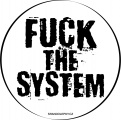 Zvětšit fotografii - Samolepka Fuck The System