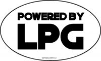 Powered by LPG